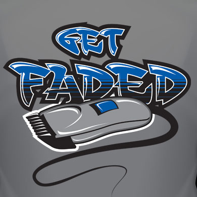 Get Faded T-Shirt Logo